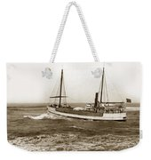 steam-schooner Elizabeth circa 1914 Weekender Tote Bag
