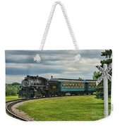 Steam Train Tr3627-13 Weekender Tote Bag