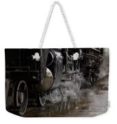 Steam Wheels Weekender Tote Bag