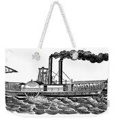 Steamboat, 19th Century Weekender Tote Bag