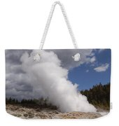 Steamboat Geyser Yellowstone Np Weekender Tote Bag