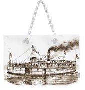 Steamboat Reliance Sepia Weekender Tote Bag