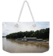 Steamboat River Elbe Germany Weekender Tote Bag