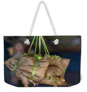 Steamed Food Parcels Weekender Tote Bag