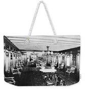 Steamer Interior, C1867 Weekender Tote Bag
