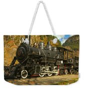 Steaming Through The Fall Weekender Tote Bag