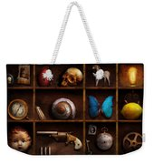 Steampunk - A Box Of Curiosities Weekender Tote Bag