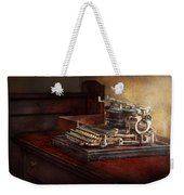 Steampunk - A Crusty Old Typewriter Weekender Tote Bag