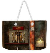 Steampunk - Alphabet - J Is For Jet Pack Weekender Tote Bag