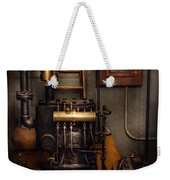Steampunk - Back In The Engine Room Weekender Tote Bag