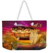 Steampunk - Blimp - Everlasting Wonder Weekender Tote Bag