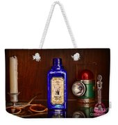 Steampunk Bottled Light Weekender Tote Bag