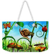 Steampunk - Bugs - Evolution Take Time Weekender Tote Bag