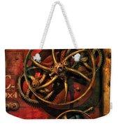 Steampunk - Clockwork Weekender Tote Bag