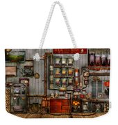 Steampunk - Coffee - The Company Coffee Maker Weekender Tote Bag