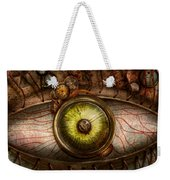 Steampunk - Creepy - Eye On Technology  Weekender Tote Bag