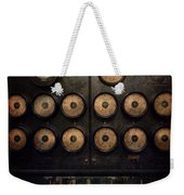 Steampunk - Electrical - Center Of Power Weekender Tote Bag by Mike Savad