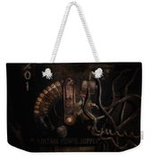 Steampunk - Electrical - Rotary Switch Weekender Tote Bag