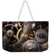 Steampunk - Gears - Horology Weekender Tote Bag