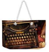 Steampunk - Just An Ordinary Typewriter  Weekender Tote Bag