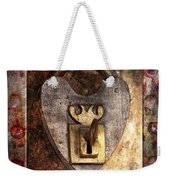 Steampunk - Locksmith - The Key To My Heart Weekender Tote Bag by Mike Savad