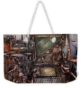 Steampunk - Machine - All The Bells And Whistles  Weekender Tote Bag