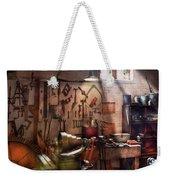 Steampunk - Machinist - The Inventors Workshop  Weekender Tote Bag