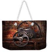 Steampunk - No 10 Weekender Tote Bag by Mike Savad