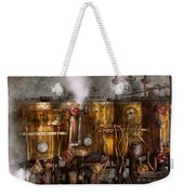 Steampunk - Plumbing - Distilation Apparatus  Weekender Tote Bag
