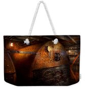 Steampunk - Plumbing - The Home Of A Stoker  Weekender Tote Bag by Mike Savad