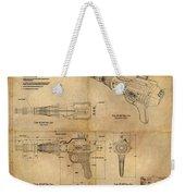 Steampunk Raygun Weekender Tote Bag