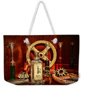 Steampunk - Spare Gears - Mechanical Weekender Tote Bag