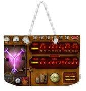 Steampunk - Temporal Flux Weekender Tote Bag by Mike Savad