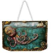 Steampunk - The Tale Of The Kraken Weekender Tote Bag