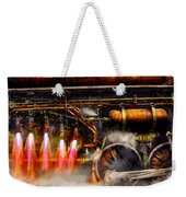Steampunk - Train - The Super Express  Weekender Tote Bag