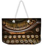 Steampunk - Typewriter - Underwood Weekender Tote Bag