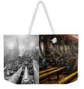 Steampunk - War - We Are Ready - Side By Side Weekender Tote Bag