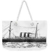 Steamship - City Of New York Weekender Tote Bag