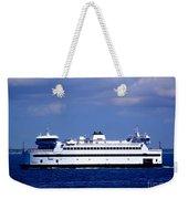 Steamship Authority Ferry Weekender Tote Bag