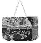 Steamship: Saloon, 1890 Weekender Tote Bag