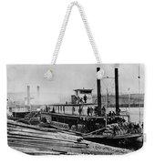 Steamships, C1864 Weekender Tote Bag