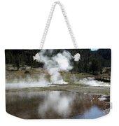 Steamy Reflections Weekender Tote Bag