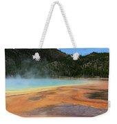 Steamy Yellowstone Weekender Tote Bag