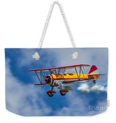 Stearman Biplane Weekender Tote Bag