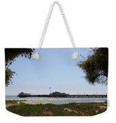 Stearns Wharf Santa Barbara Weekender Tote Bag
