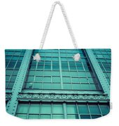 Steel And Glass Weekender Tote Bag
