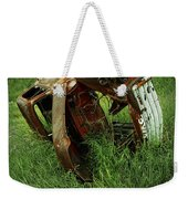 Steel Auto Carcass With Vultures Weekender Tote Bag