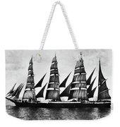 Steel Barque, 1921 Weekender Tote Bag