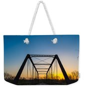 Steel Bridge Weekender Tote Bag