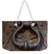 Steel Decorated Doorknob Weekender Tote Bag